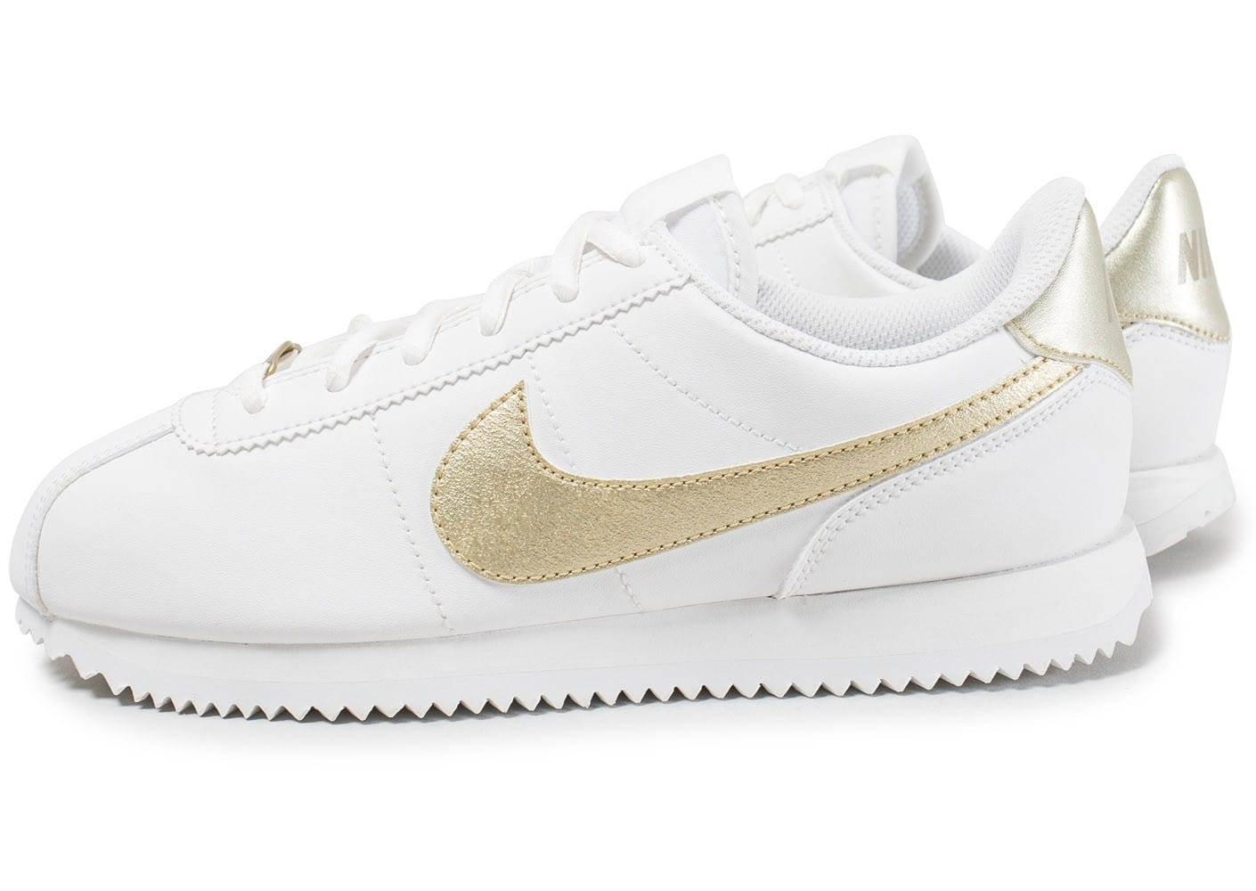 nike cortez blanche or