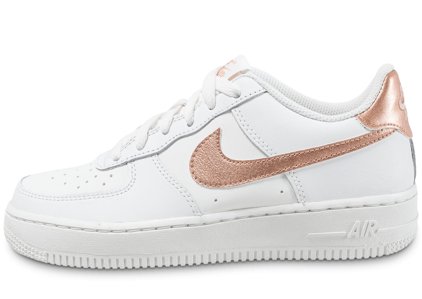 nike air force 1 junior summit bronze chaussures enfant chausport. Black Bedroom Furniture Sets. Home Design Ideas