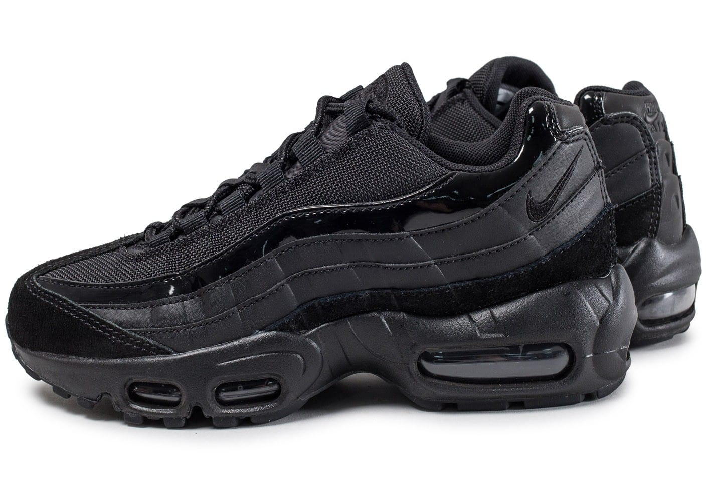 nike air max 95 w noire chaussures femme chausport. Black Bedroom Furniture Sets. Home Design Ideas