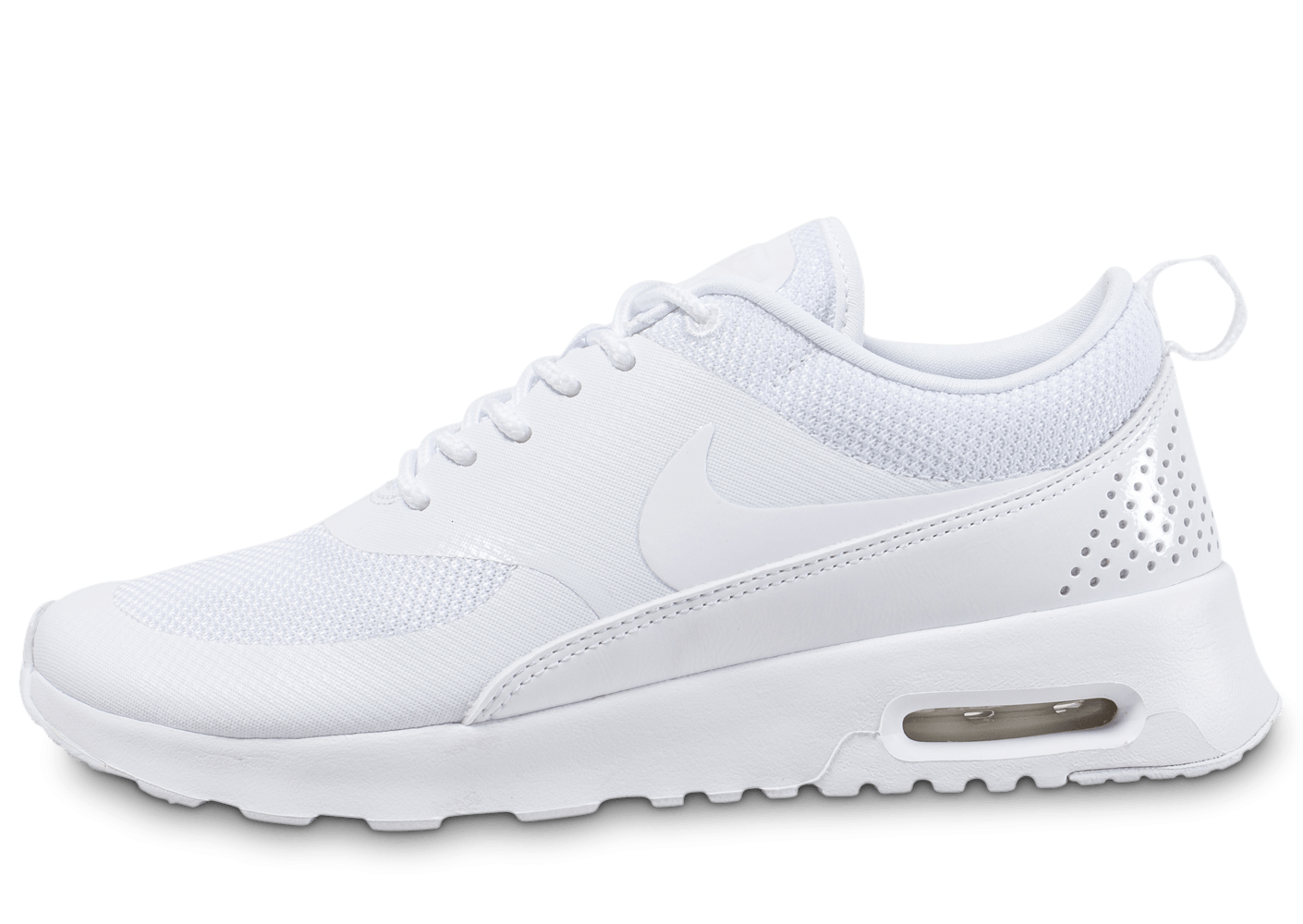 nike air max thea blanche chaussures femme chausport. Black Bedroom Furniture Sets. Home Design Ideas