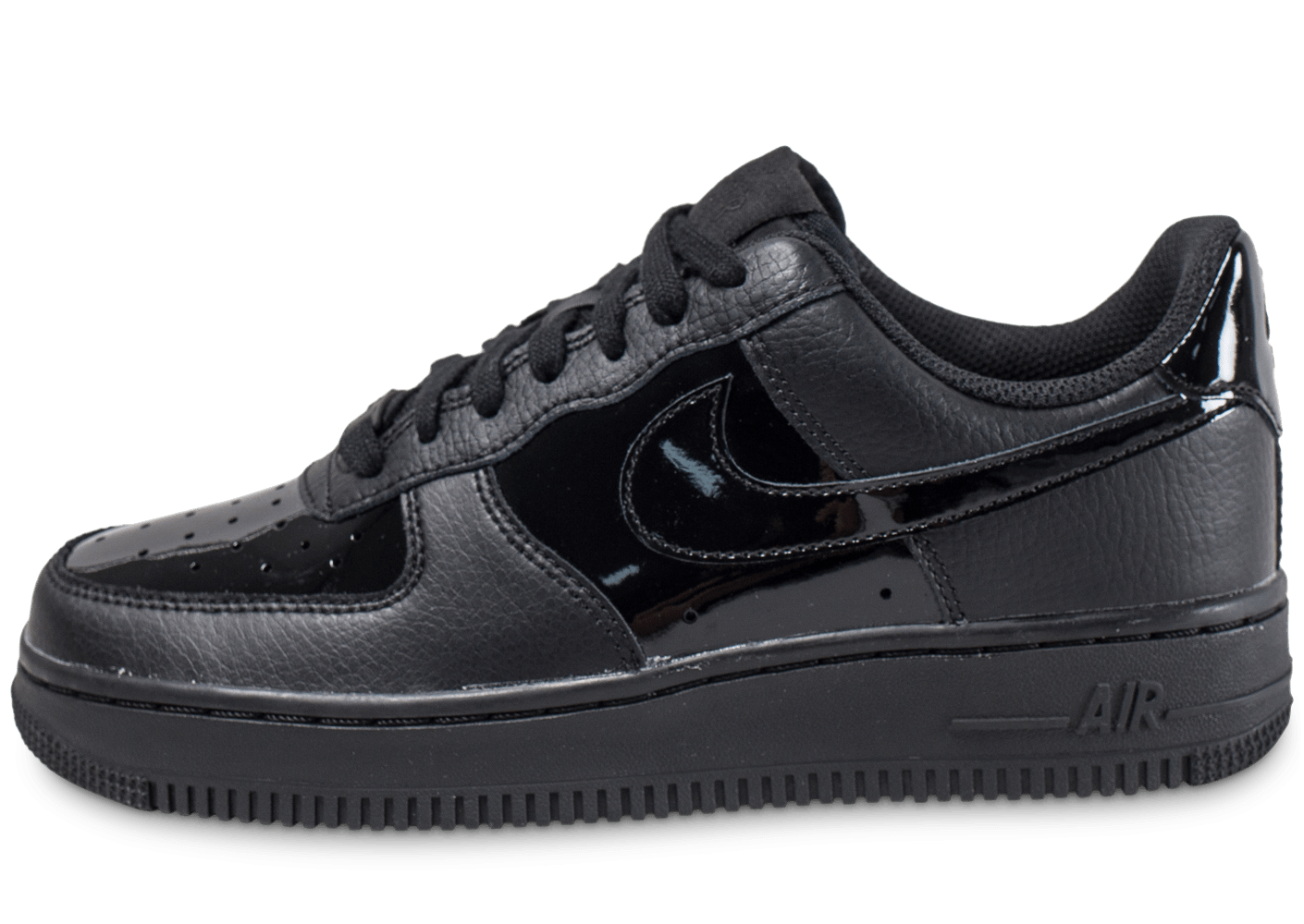 nike air force 1 39 07 w vernis noire patent chaussures. Black Bedroom Furniture Sets. Home Design Ideas