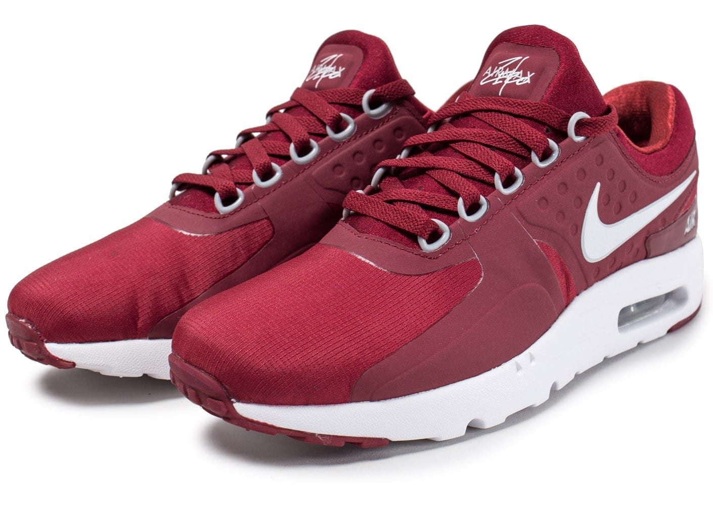 ... Chaussures Nike Air Max Zero Essential rouge vue intérieure ...