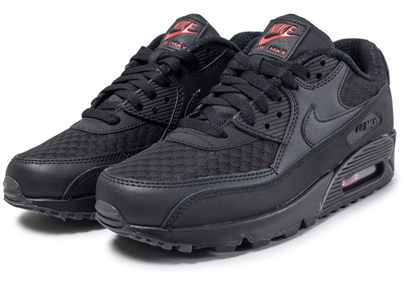 Chaussures Nike Air Max 90 Essential Ninja Pack noire vue intérieure .