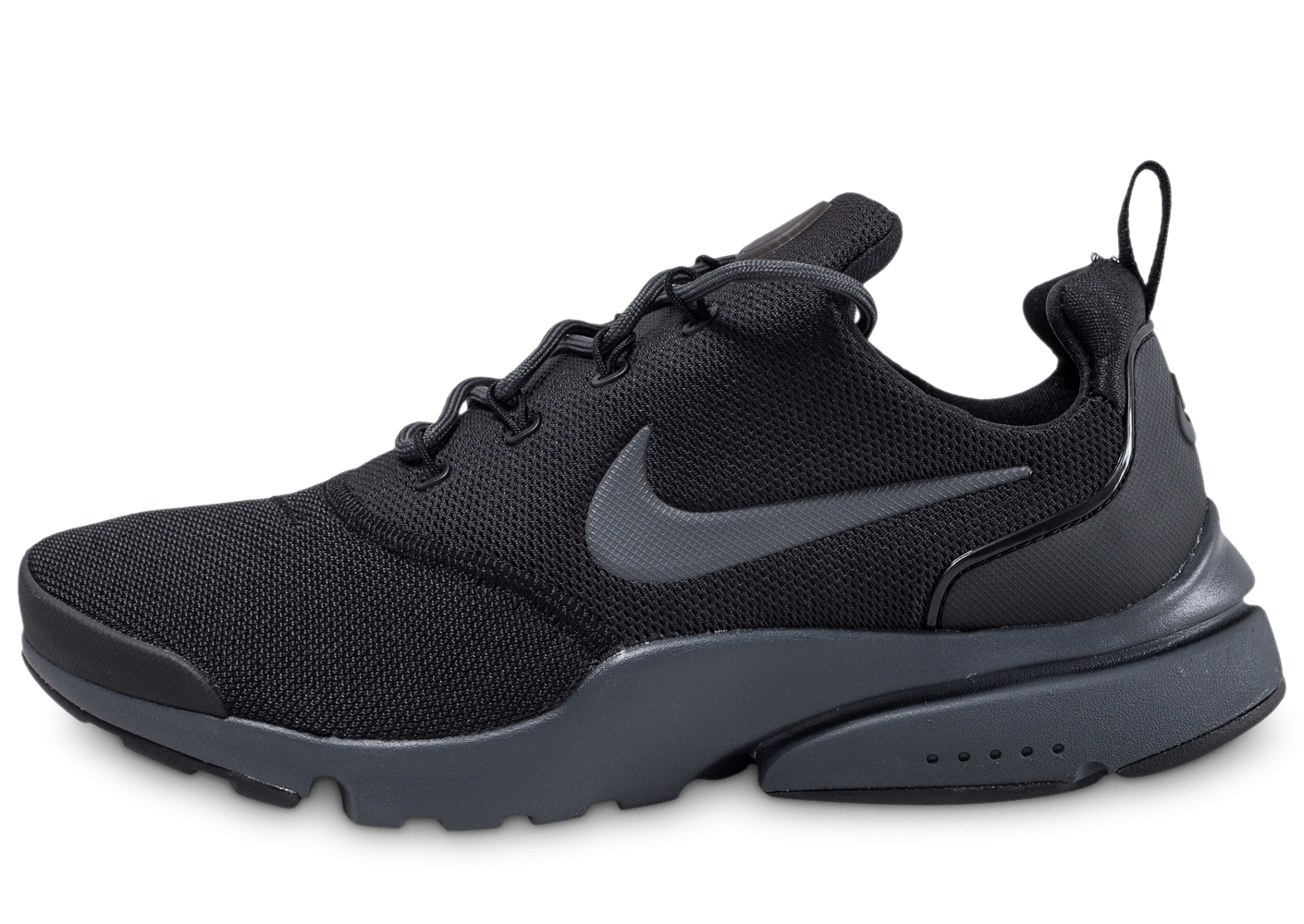 nike presto fly noire anthracite chaussures baskets homme chausport. Black Bedroom Furniture Sets. Home Design Ideas