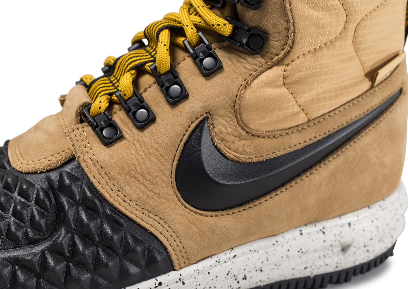 check out 9a185 8db8c ... Chaussures Nike Lunar Force 1 Duckboot 17  beige vue dessus
