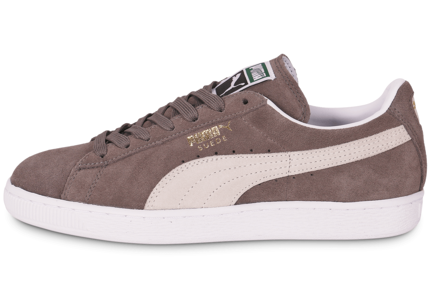 puma suede grise homme