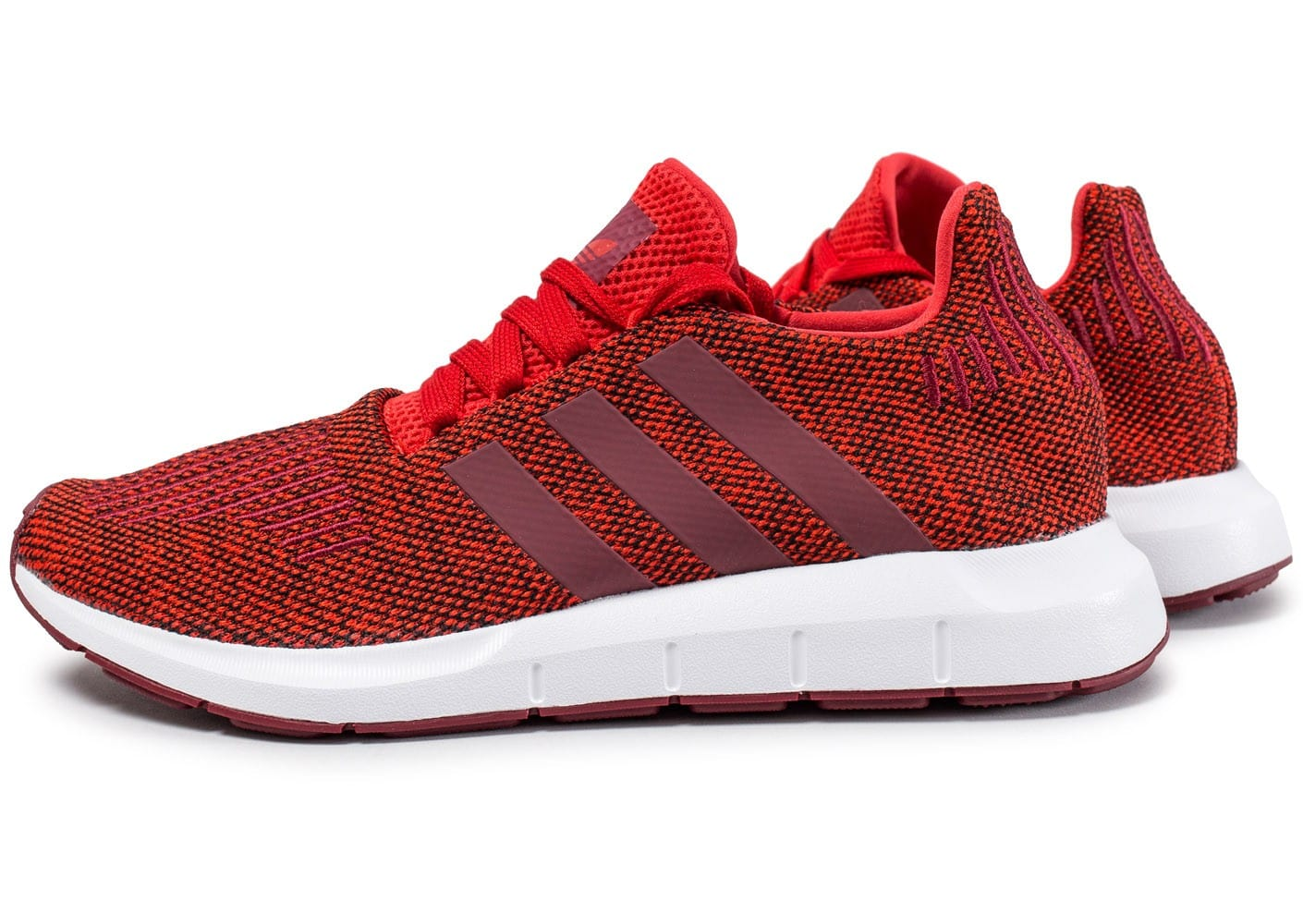 adidas swift run rouge chaussures homme chausport. Black Bedroom Furniture Sets. Home Design Ideas