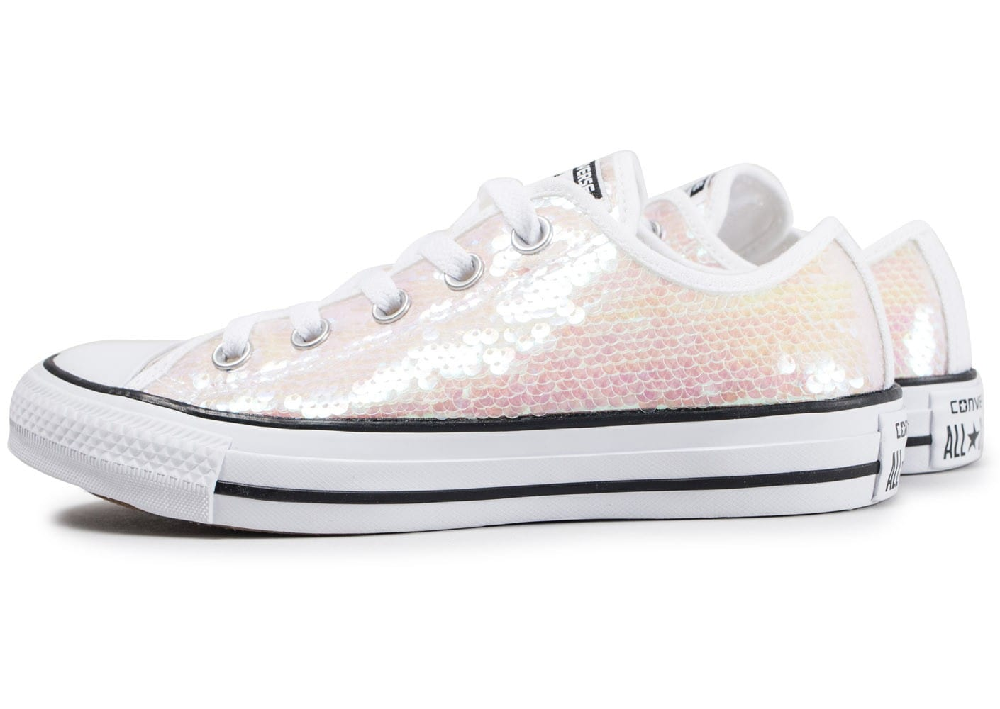 converse all star femme blanche basse