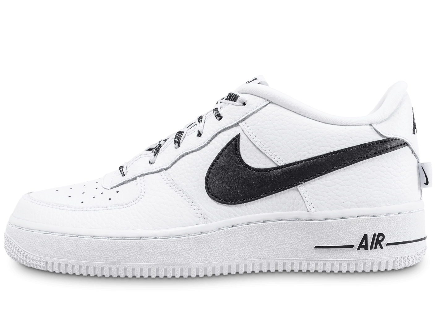 nike air force 1 lv8 nba blanche et noire chaussures. Black Bedroom Furniture Sets. Home Design Ideas