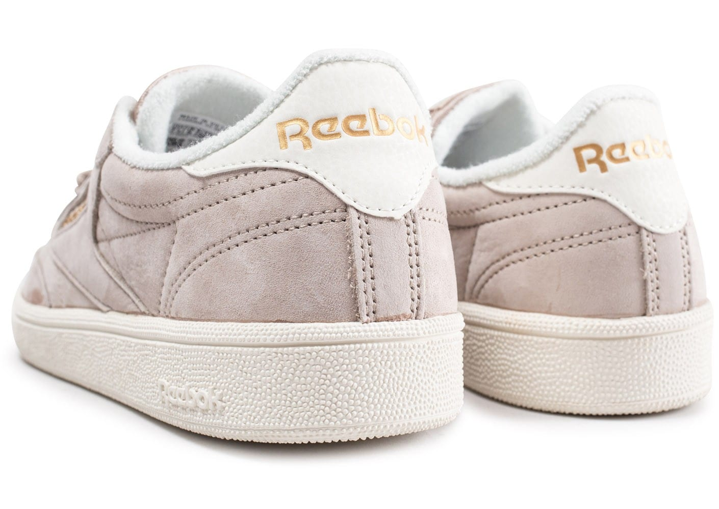 d319be12a8c Reebok Club C 85 Vintage beige - Chaussures Baskets femme .