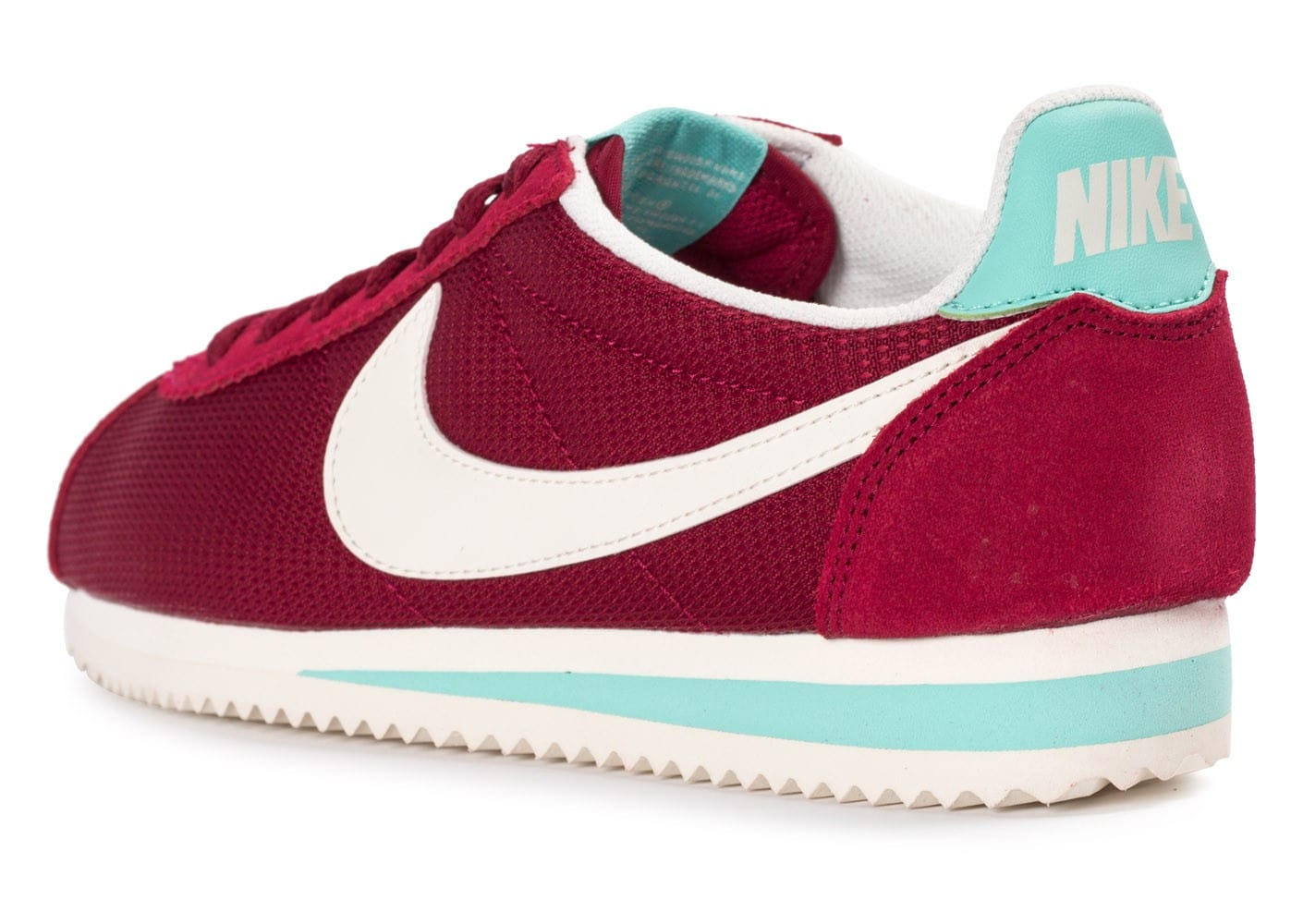 nike cortez txt bordeaux chaussures toutes les baskets sold es chausport. Black Bedroom Furniture Sets. Home Design Ideas
