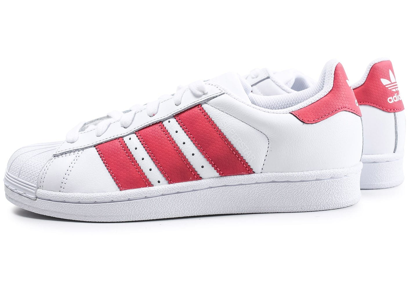 adidas superstar iridescent junior blanche et rose chaussures adidas chausport. Black Bedroom Furniture Sets. Home Design Ideas