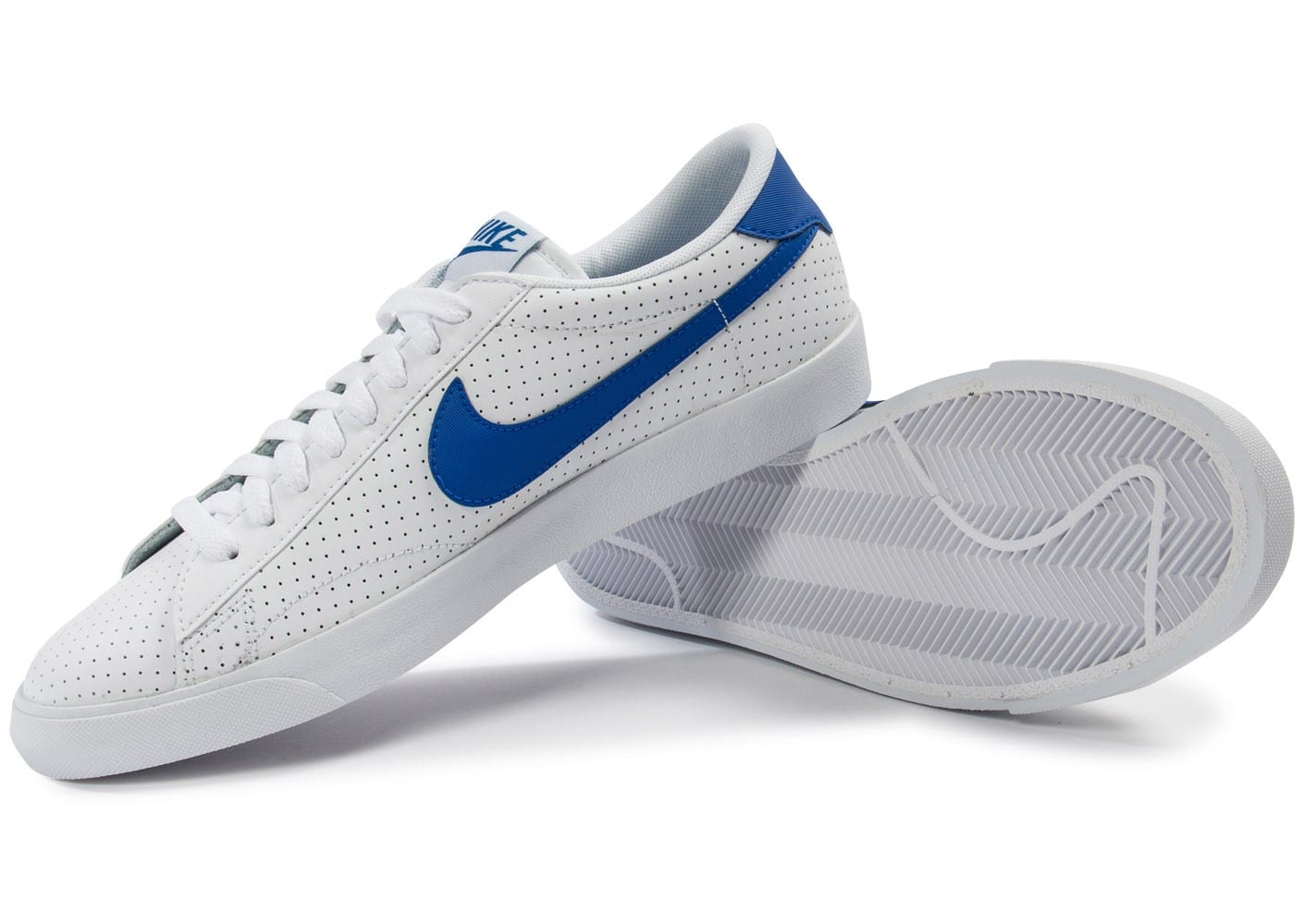 nike jordan homme - Nike Tennis Perf blanche et bleue - Chaussures Homme - Chausport