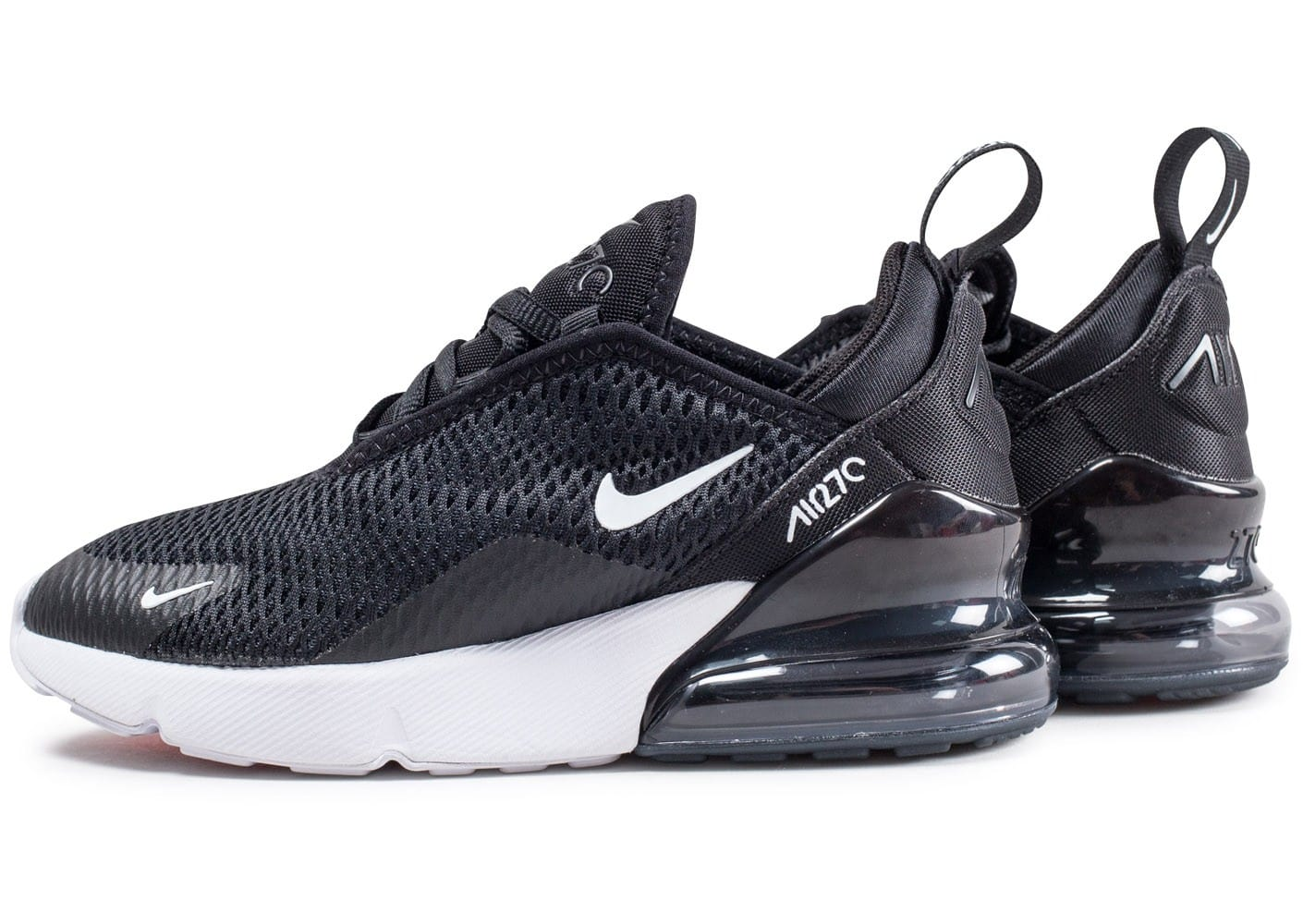 nike air max 270 enfant noire et blanche chaussures enfant chausport. Black Bedroom Furniture Sets. Home Design Ideas
