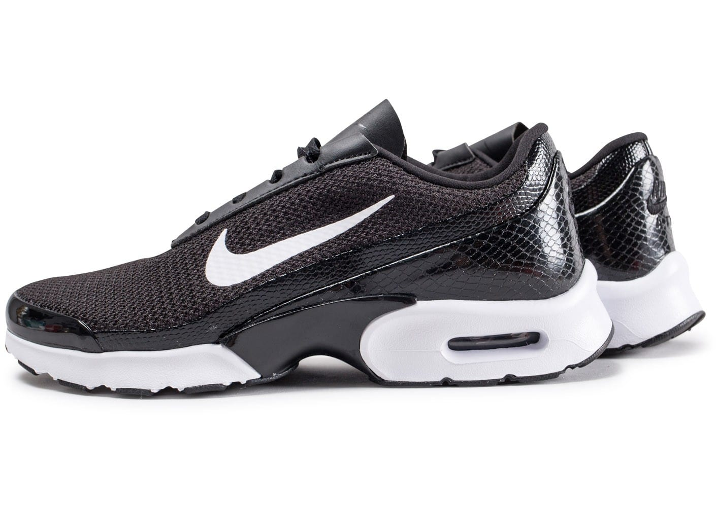 nike air max jewell noire et blanche chaussures femme chausport. Black Bedroom Furniture Sets. Home Design Ideas