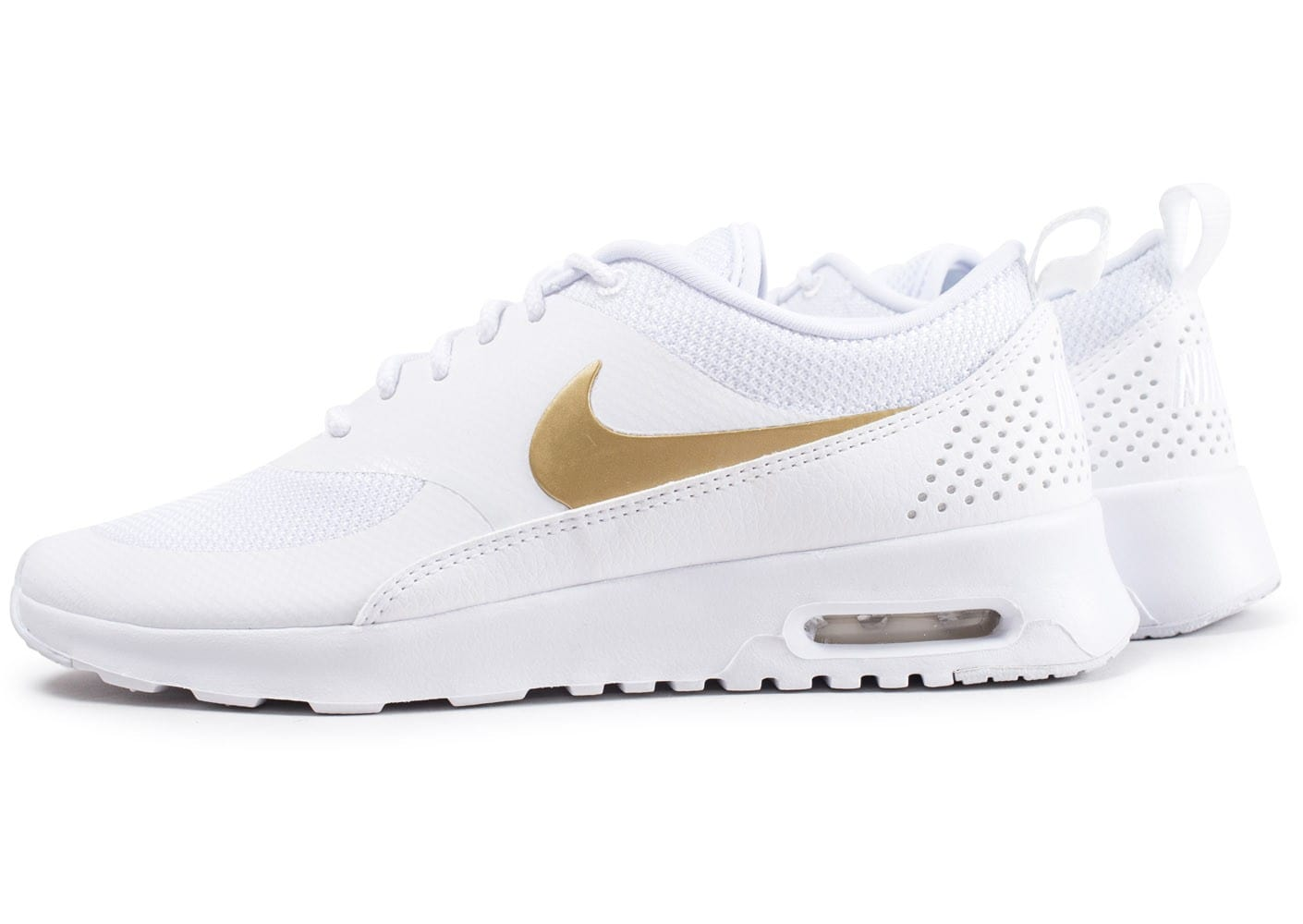 nike blanche femme thea