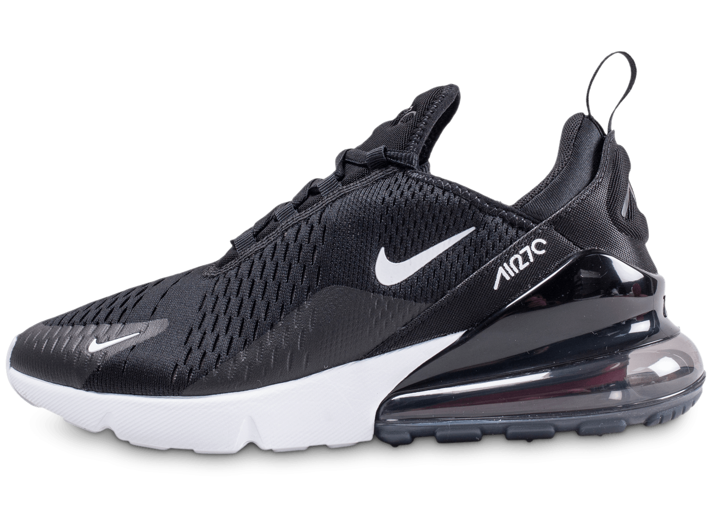 Nike Air Max 270 Noire Et Blanche Chaussures Homme