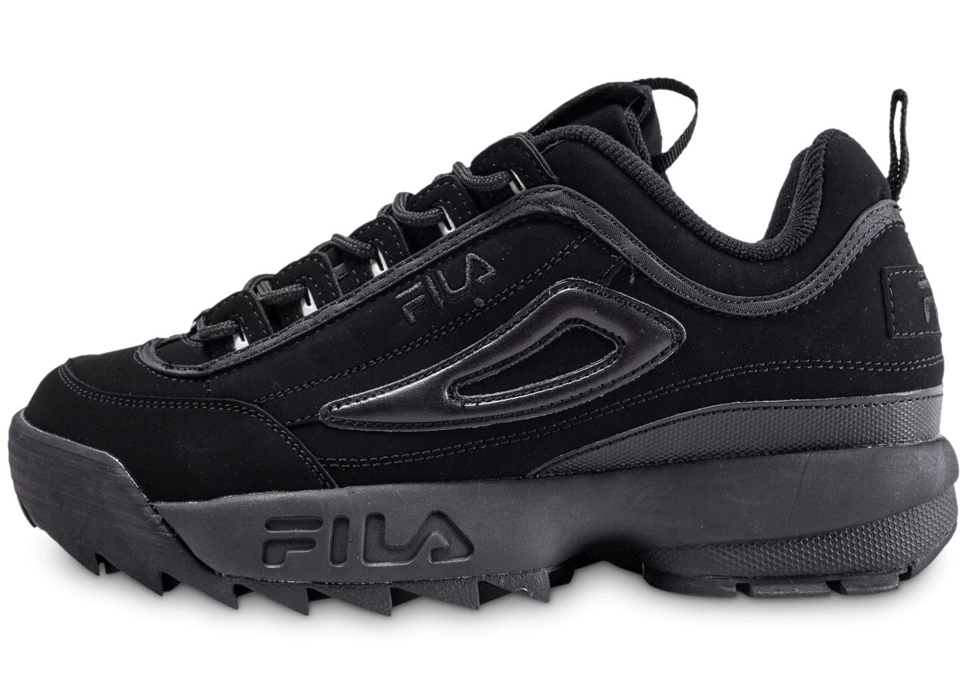 fila disruptor ii noire chaussures homme chausport. Black Bedroom Furniture Sets. Home Design Ideas