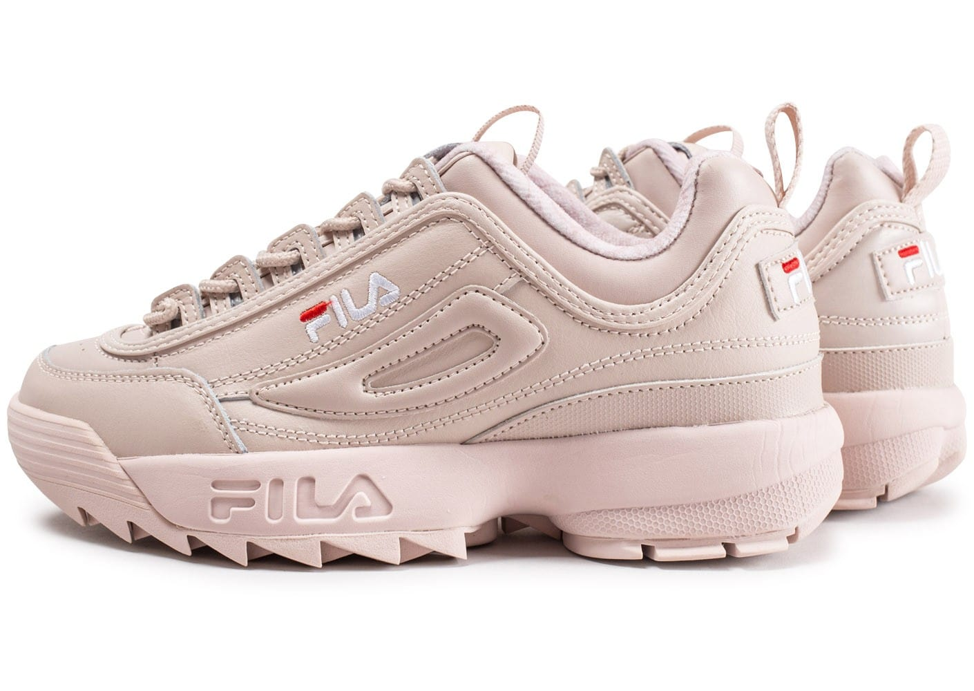 fila disruptor ii premium beige chaussures femme chausport. Black Bedroom Furniture Sets. Home Design Ideas