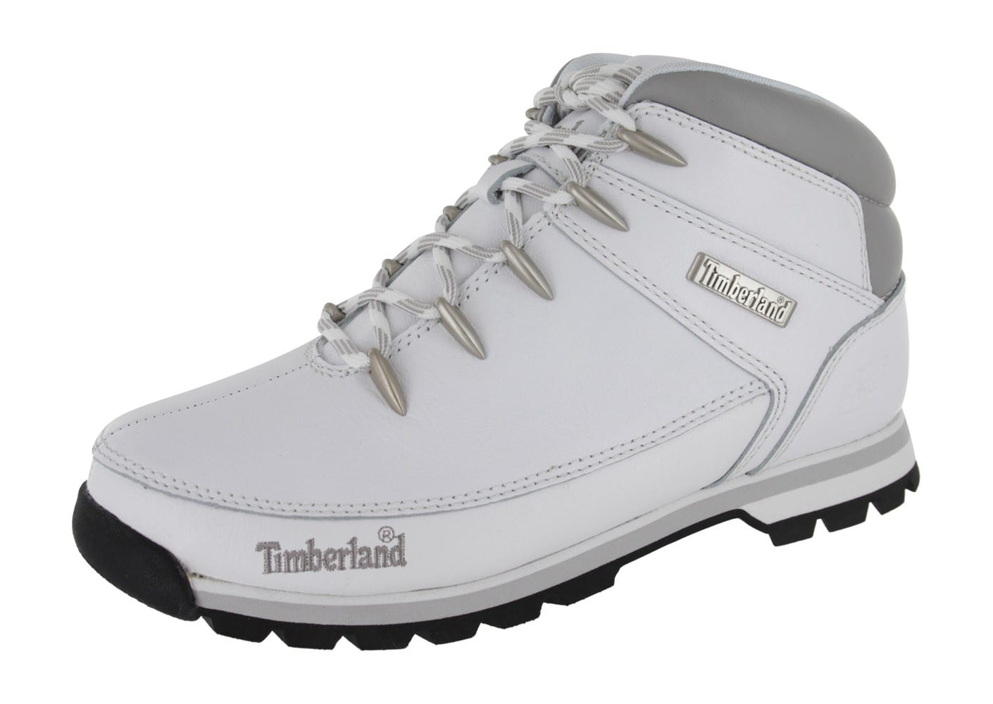 timberland euro sprint blanche chaussures homme chausport. Black Bedroom Furniture Sets. Home Design Ideas