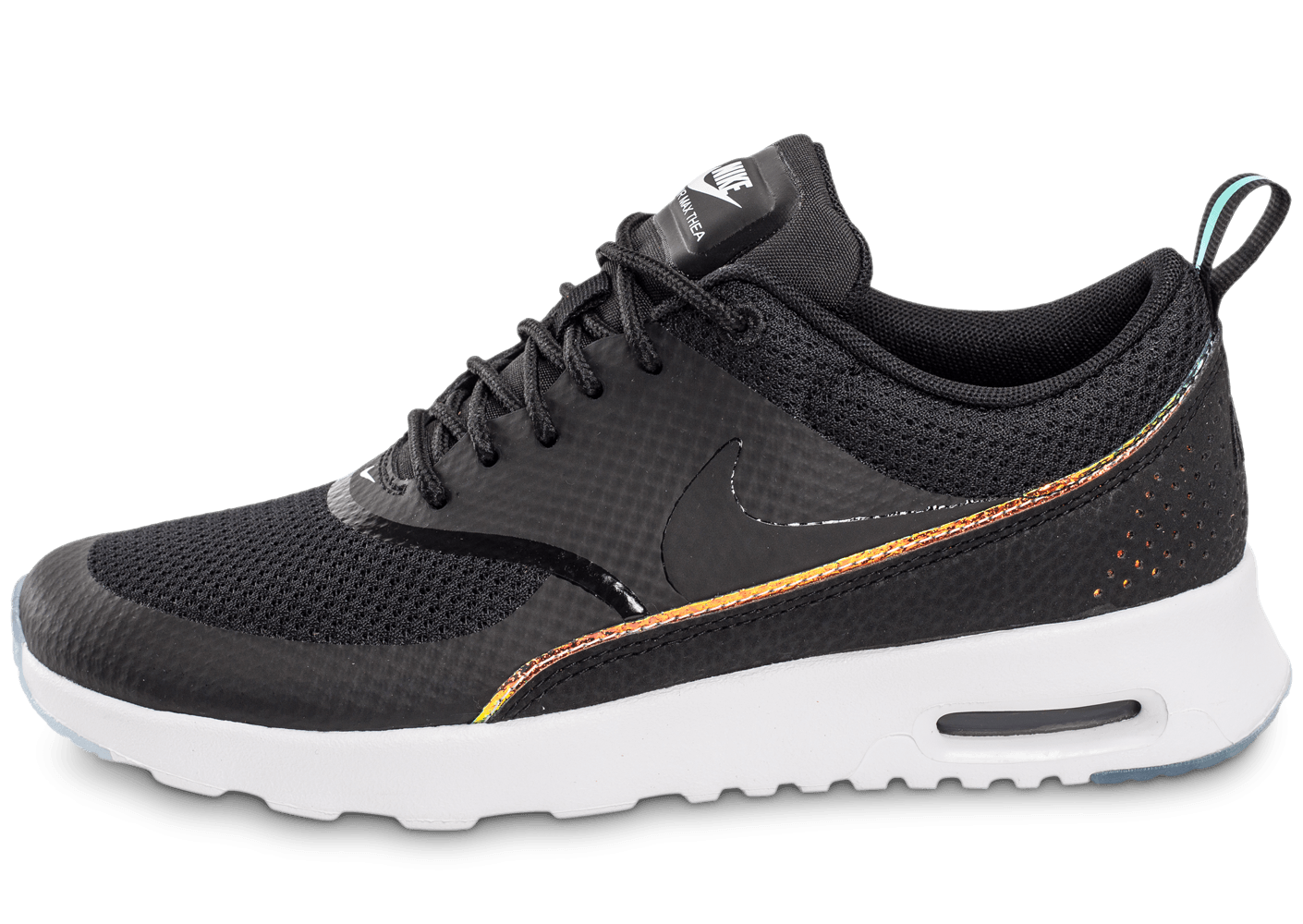nike air max thea premium noire chaussures chaussures chausport. Black Bedroom Furniture Sets. Home Design Ideas