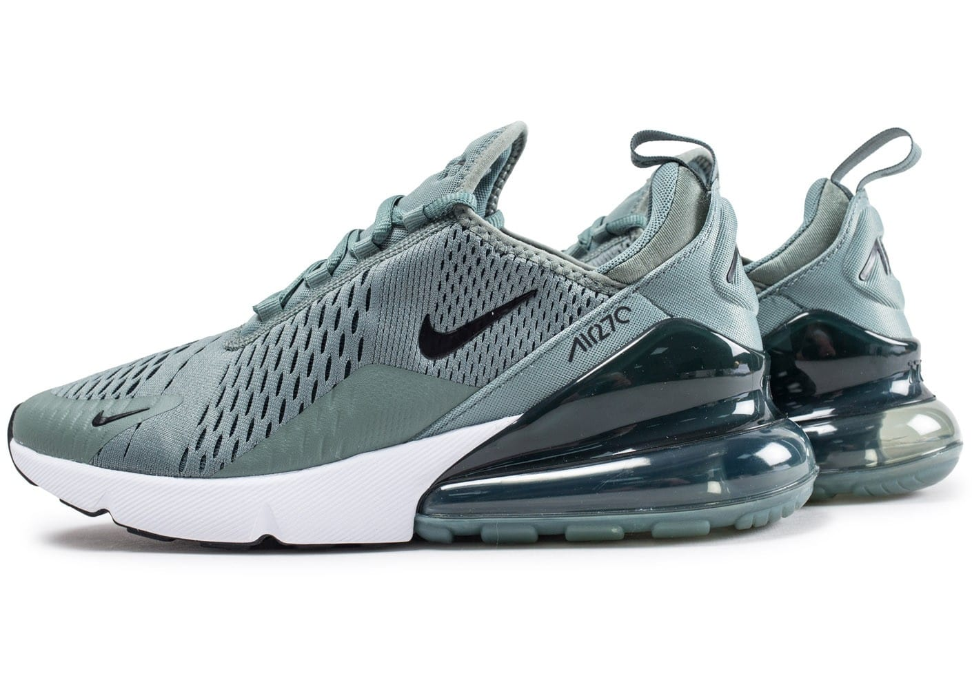 nike air max 270 vert argile chaussures baskets homme chausport. Black Bedroom Furniture Sets. Home Design Ideas