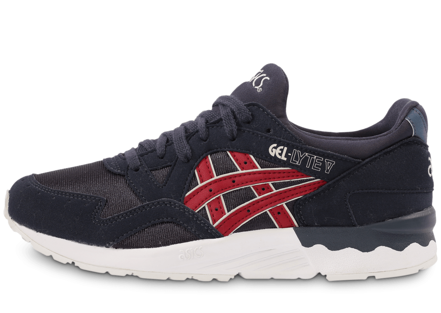 asics gel lyte 5 bleu rouge. Black Bedroom Furniture Sets. Home Design Ideas