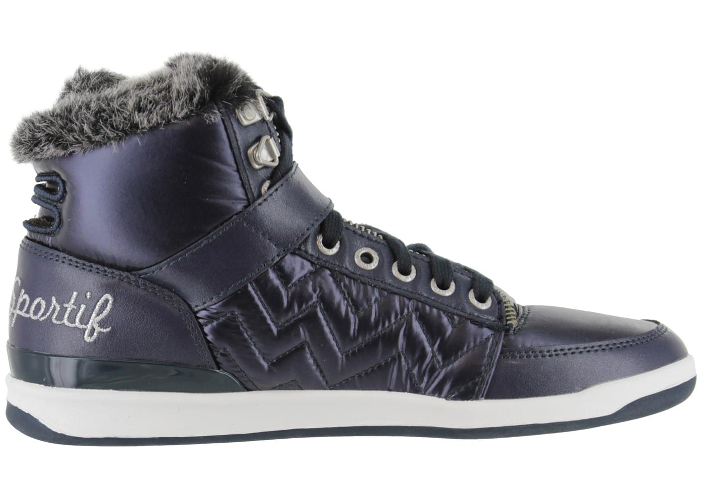 le coq sportif diamond bleu marine chaussures chaussures chausport. Black Bedroom Furniture Sets. Home Design Ideas