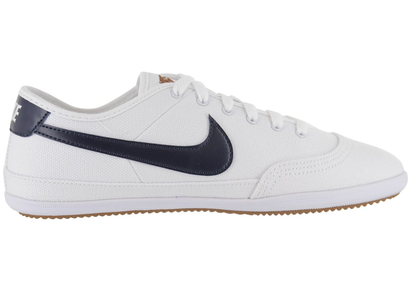 nike flash toile blanche chaussures homme chausport. Black Bedroom Furniture Sets. Home Design Ideas