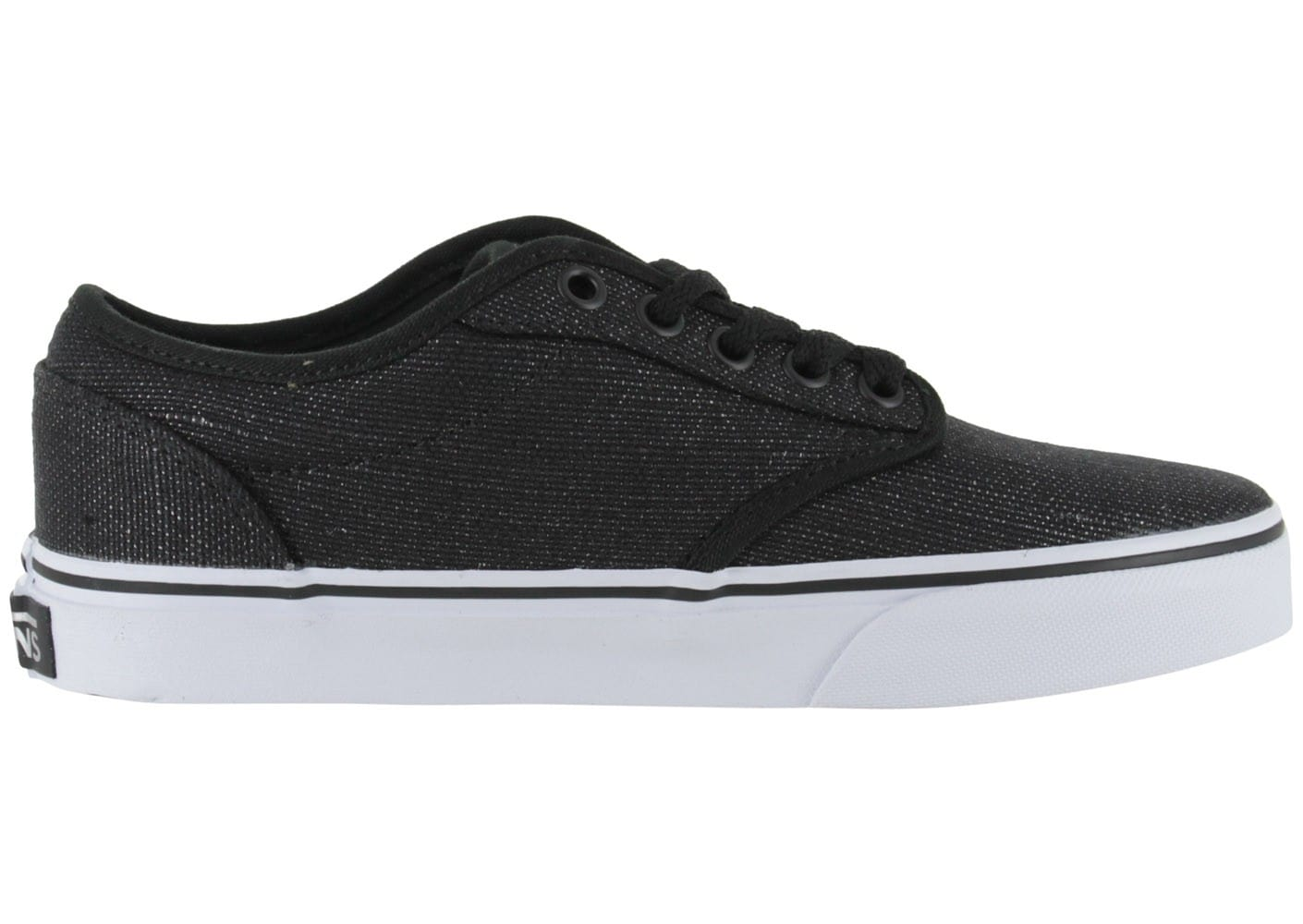 vans atwood low noir brillant chaussures chaussures chausport. Black Bedroom Furniture Sets. Home Design Ideas