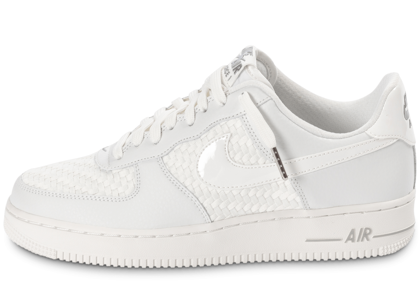 ... Chaussures Nike Air Force 1 LV8 Low blanche vue dessous ...