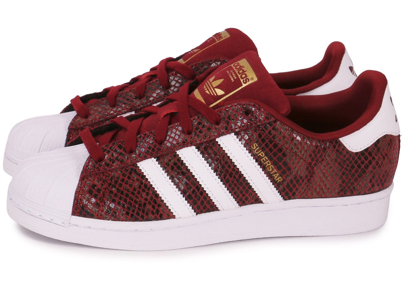 adidas superstar snake junior rouge chaussures adidas. Black Bedroom Furniture Sets. Home Design Ideas
