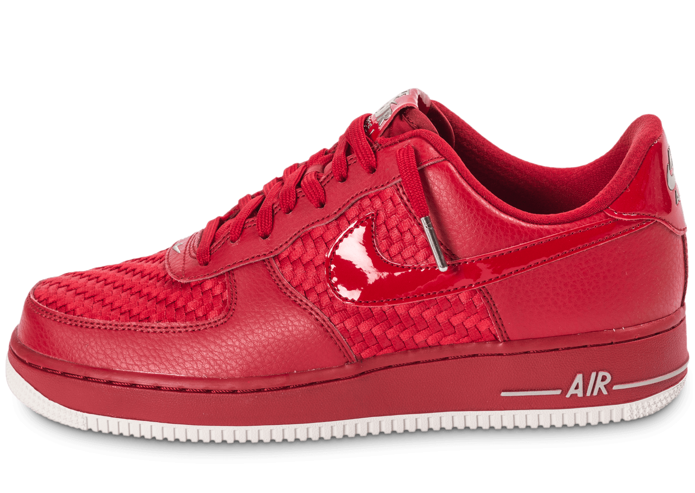 nike air force 1 lv8 low rouge chaussures homme chausport. Black Bedroom Furniture Sets. Home Design Ideas