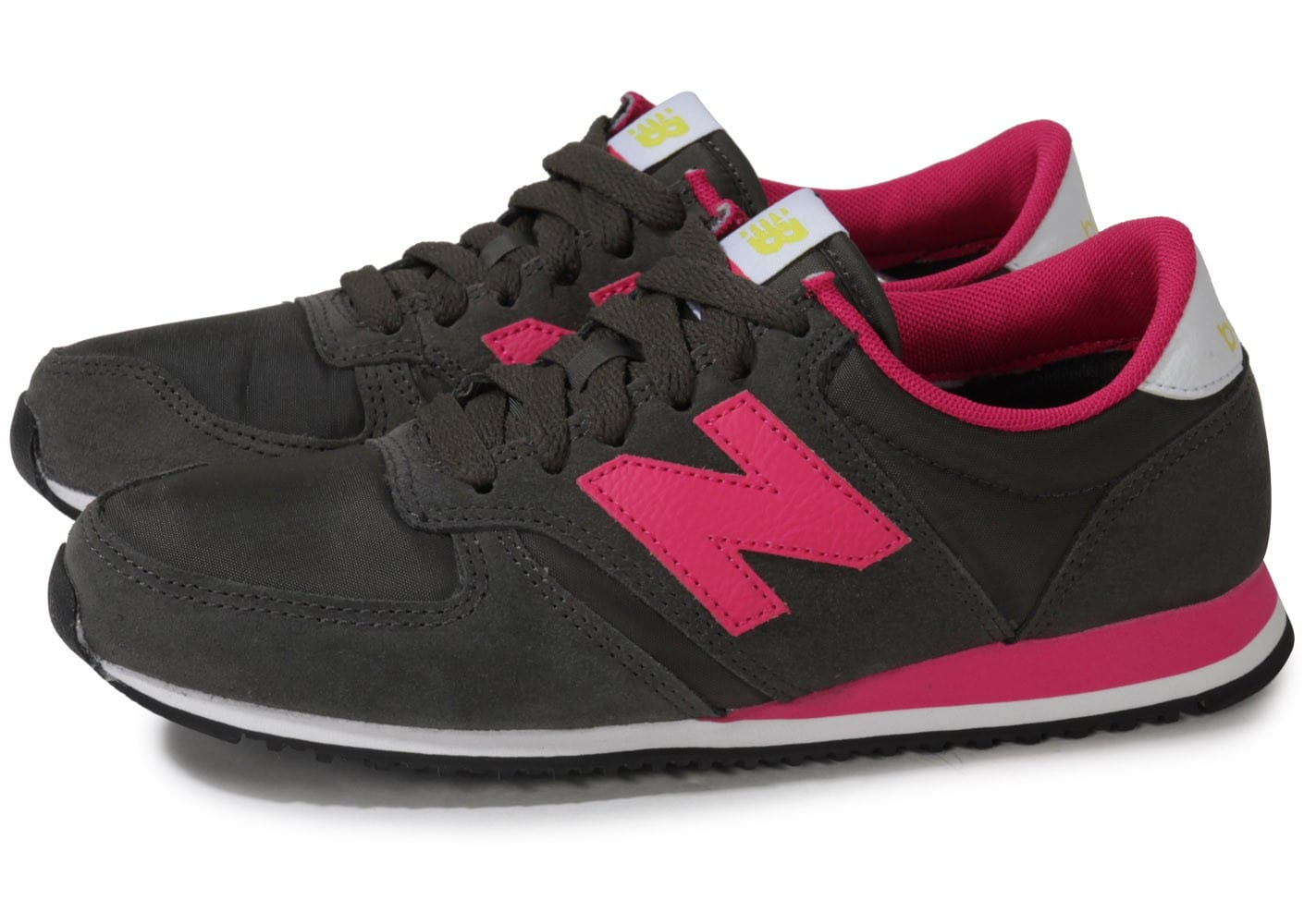 new balance w420 gris fonc rose chaussures chaussures. Black Bedroom Furniture Sets. Home Design Ideas