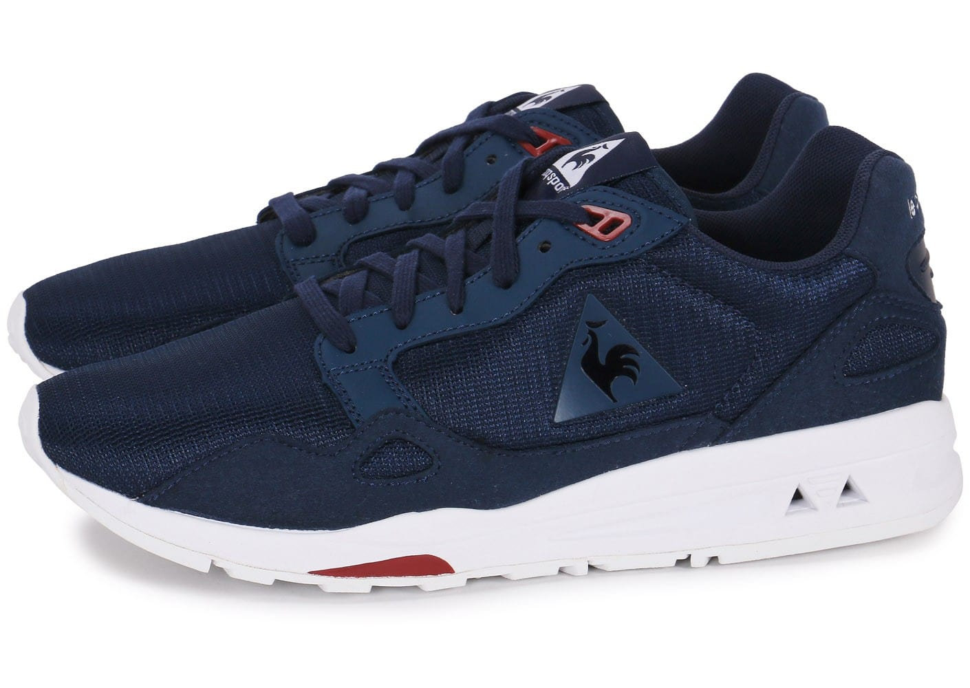 le coq sportif lcs r900 monochrome bleu marine chaussures homme chausport. Black Bedroom Furniture Sets. Home Design Ideas