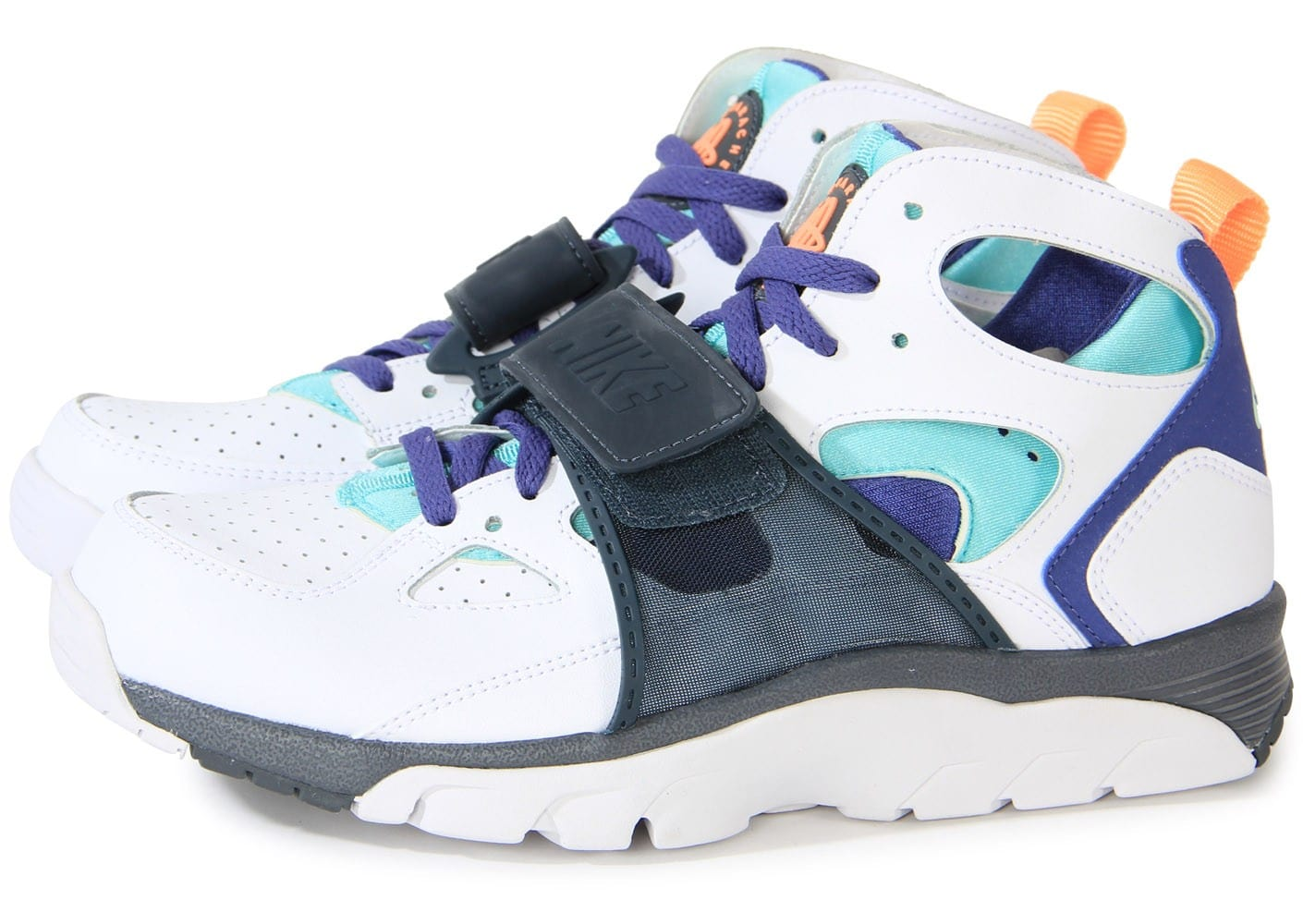 nike air trainer huarache blanche chaussures homme chausport. Black Bedroom Furniture Sets. Home Design Ideas