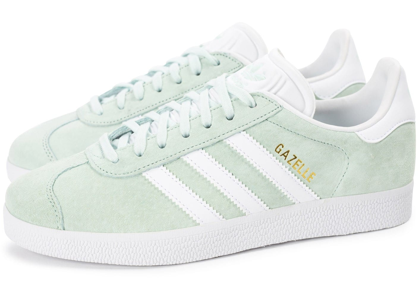 adidas gazelle w vert p le chaussures adidas chausport. Black Bedroom Furniture Sets. Home Design Ideas