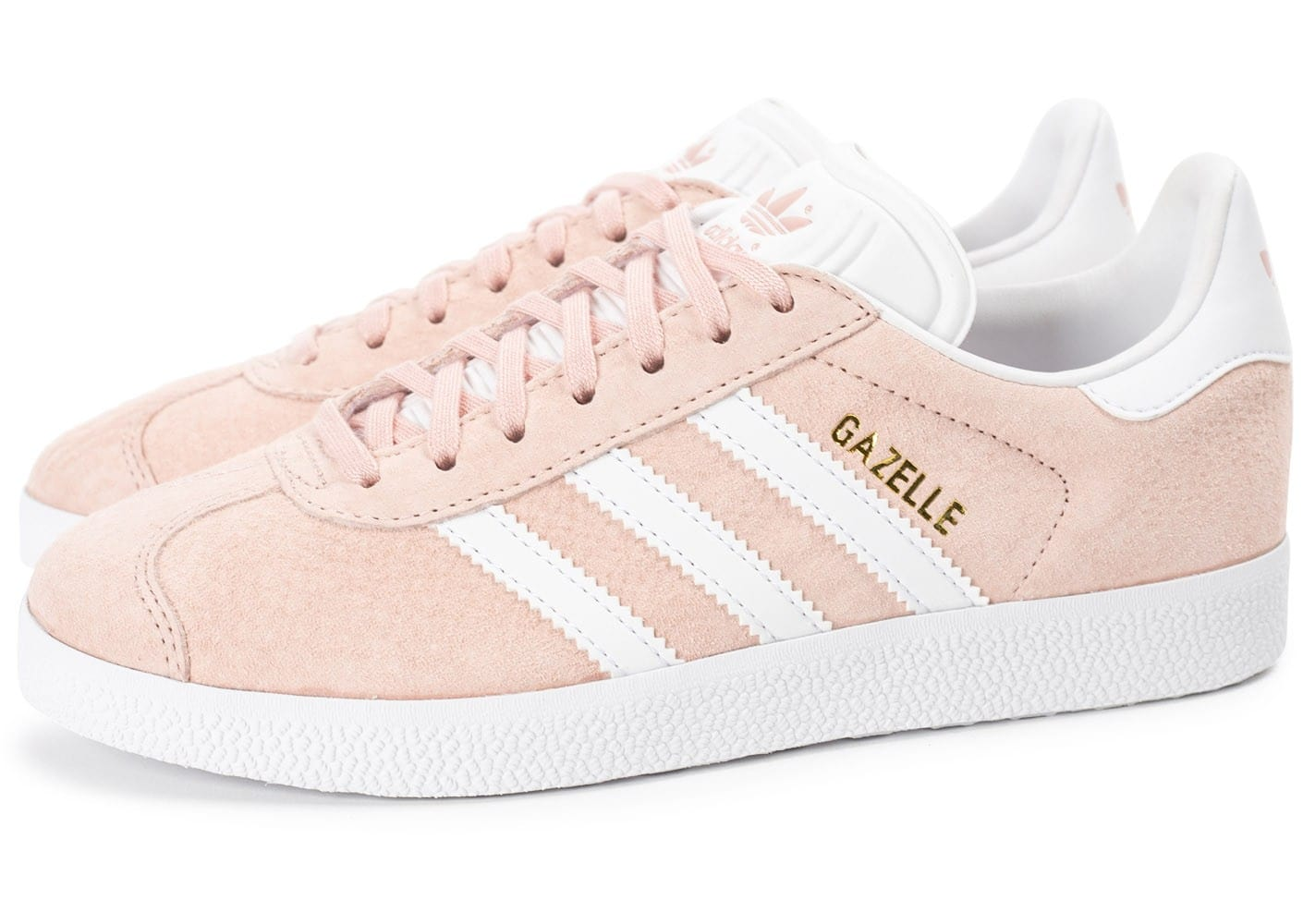 adidas gazelle w rose p le chaussures adidas chausport. Black Bedroom Furniture Sets. Home Design Ideas