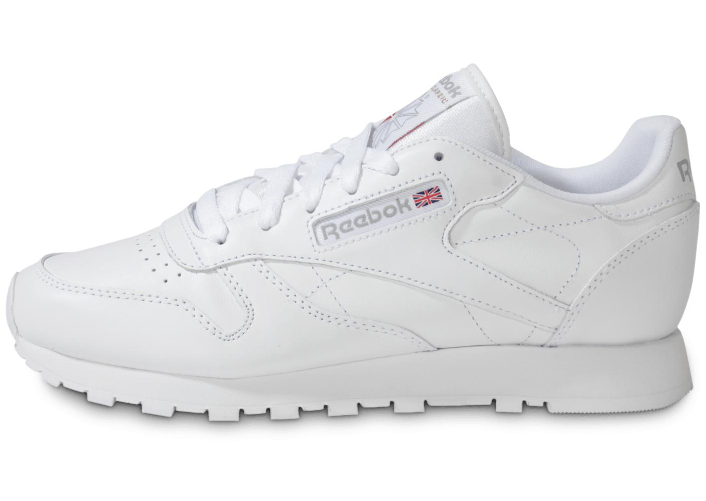 reebok classic leather blanche chaussures chaussures. Black Bedroom Furniture Sets. Home Design Ideas