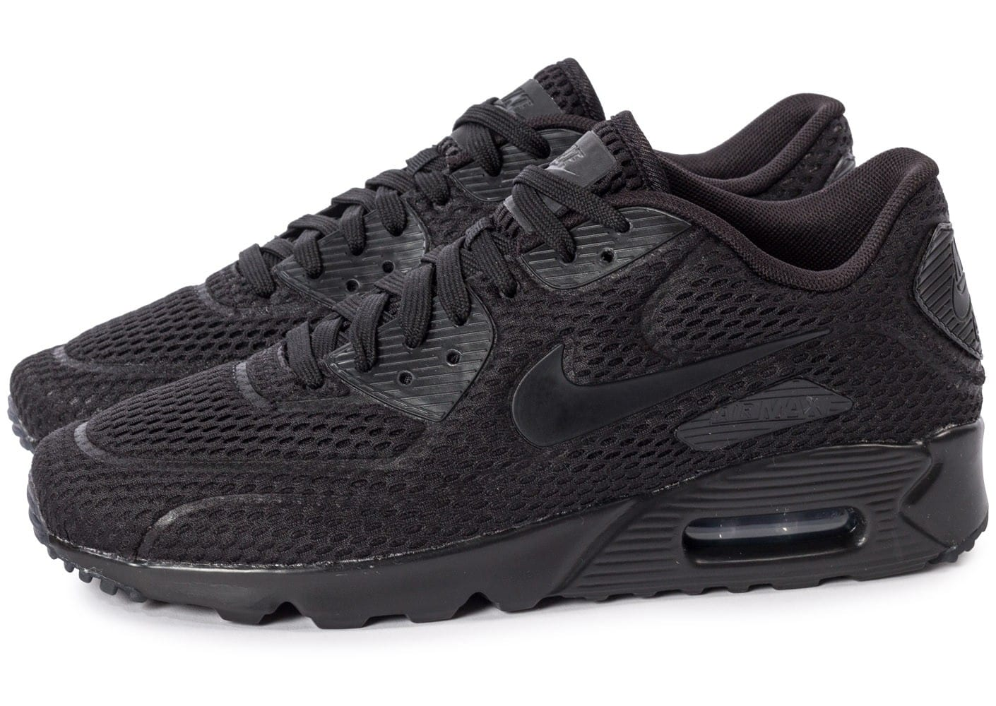 Soldes Basket Air Max 90 Ultra Essential Noire Homme