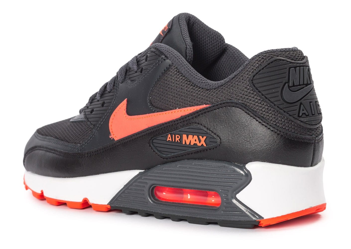 basket nike air max 90 t 43 antracite et orange