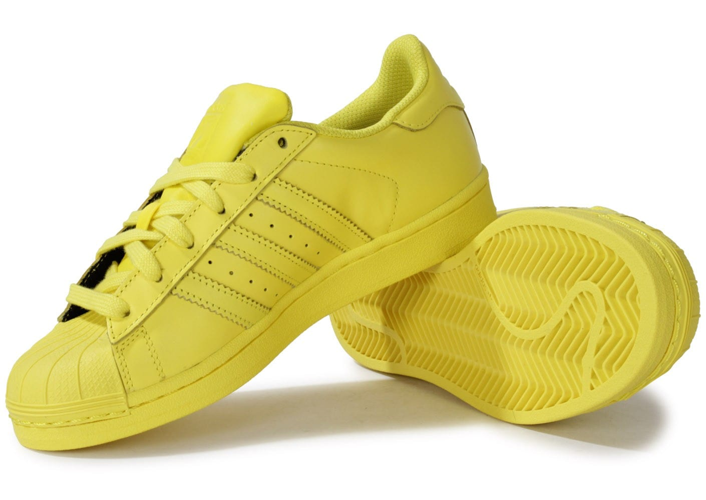 adidas supercolor jaune