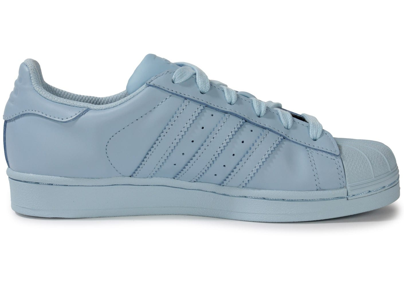 adidas chaussures adidas superstar femme coloris bleu clair. Black Bedroom Furniture Sets. Home Design Ideas