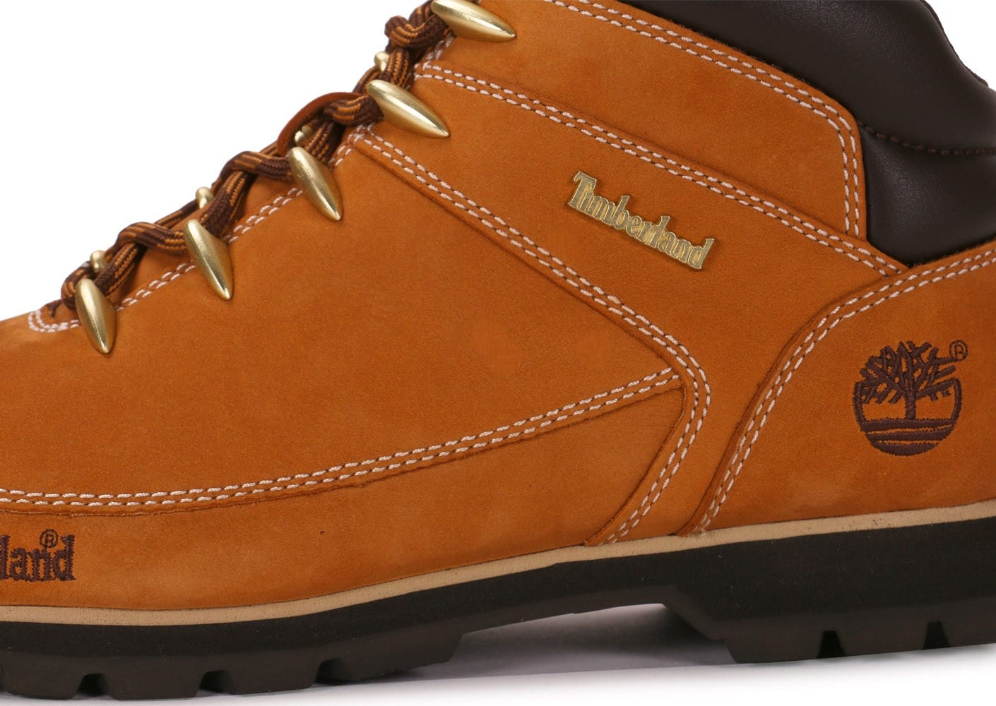 ... Chaussures Timberland Euro Sprint Camel vue dessus