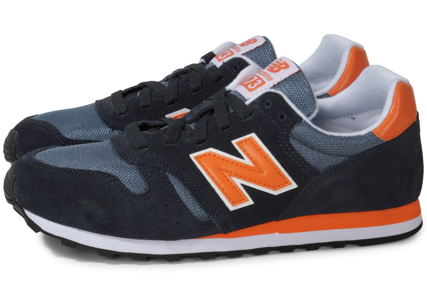 new balance homme marine orange