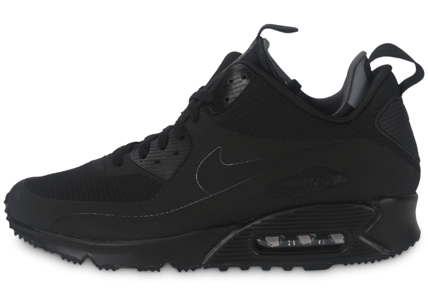 nike air max 90 mid winter noir chaussures homme chausport. Black Bedroom Furniture Sets. Home Design Ideas