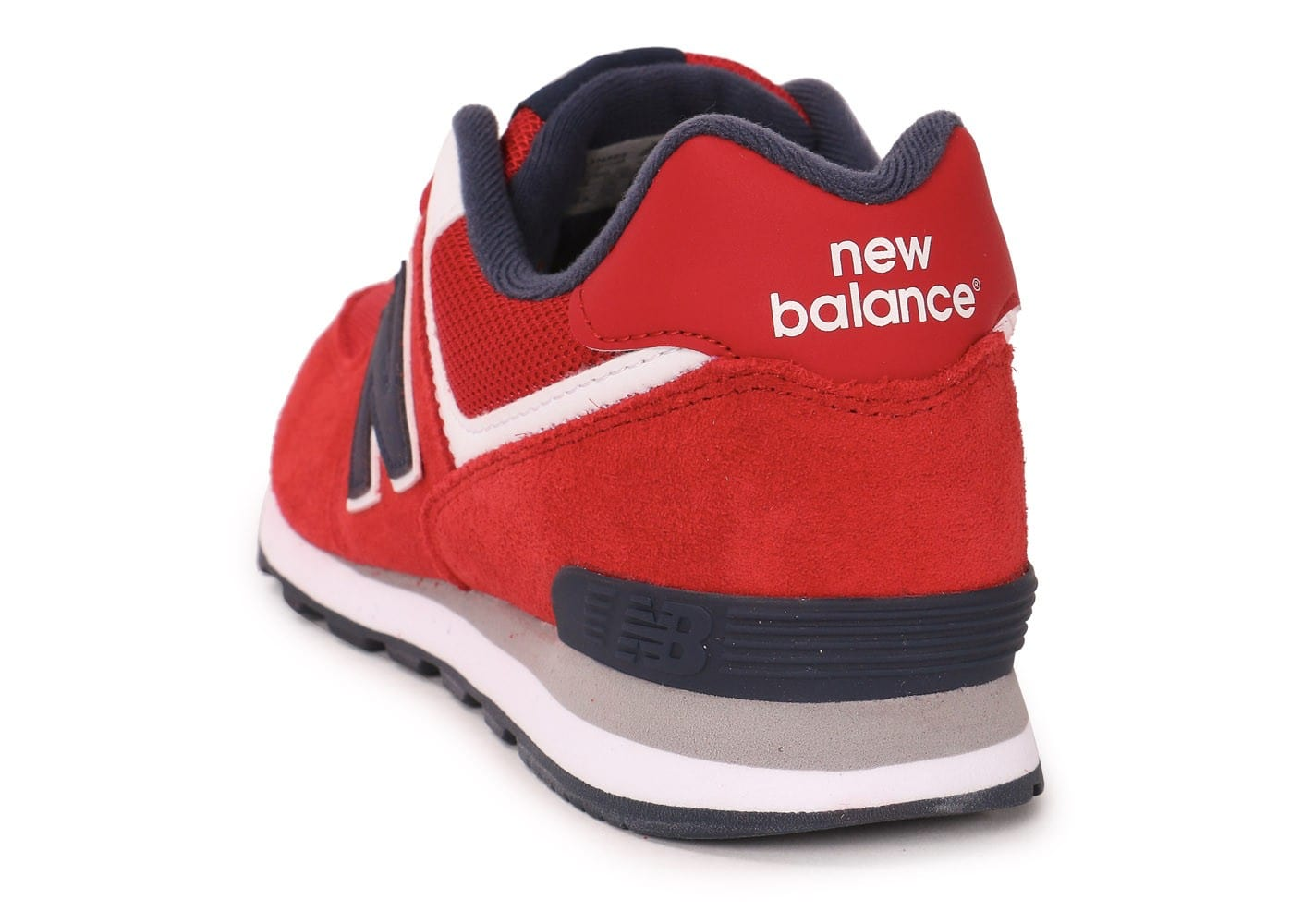 new balance kl574 junior rouge