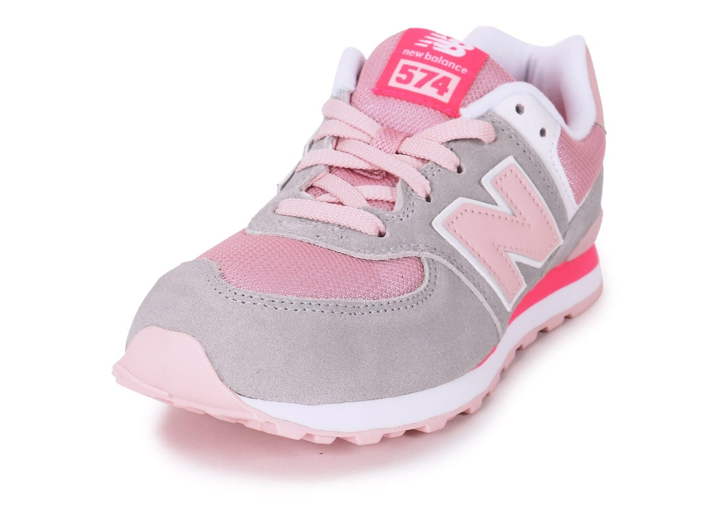 new balance kl574 junior gris