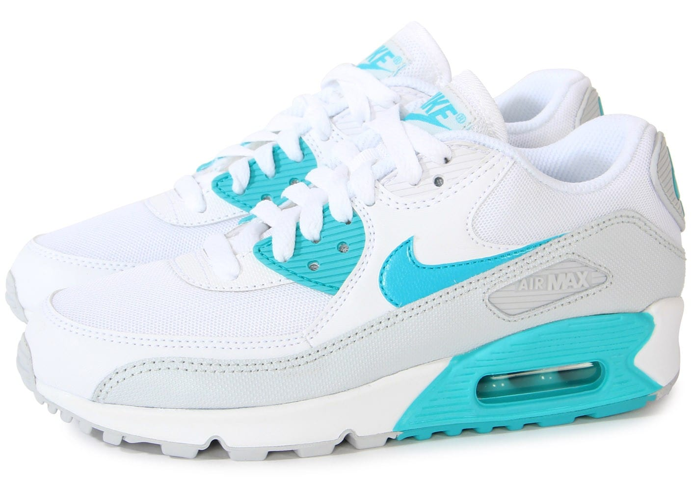 more photos 854a9 6bac5 Nike Air Max 90 Bleu Turquoise