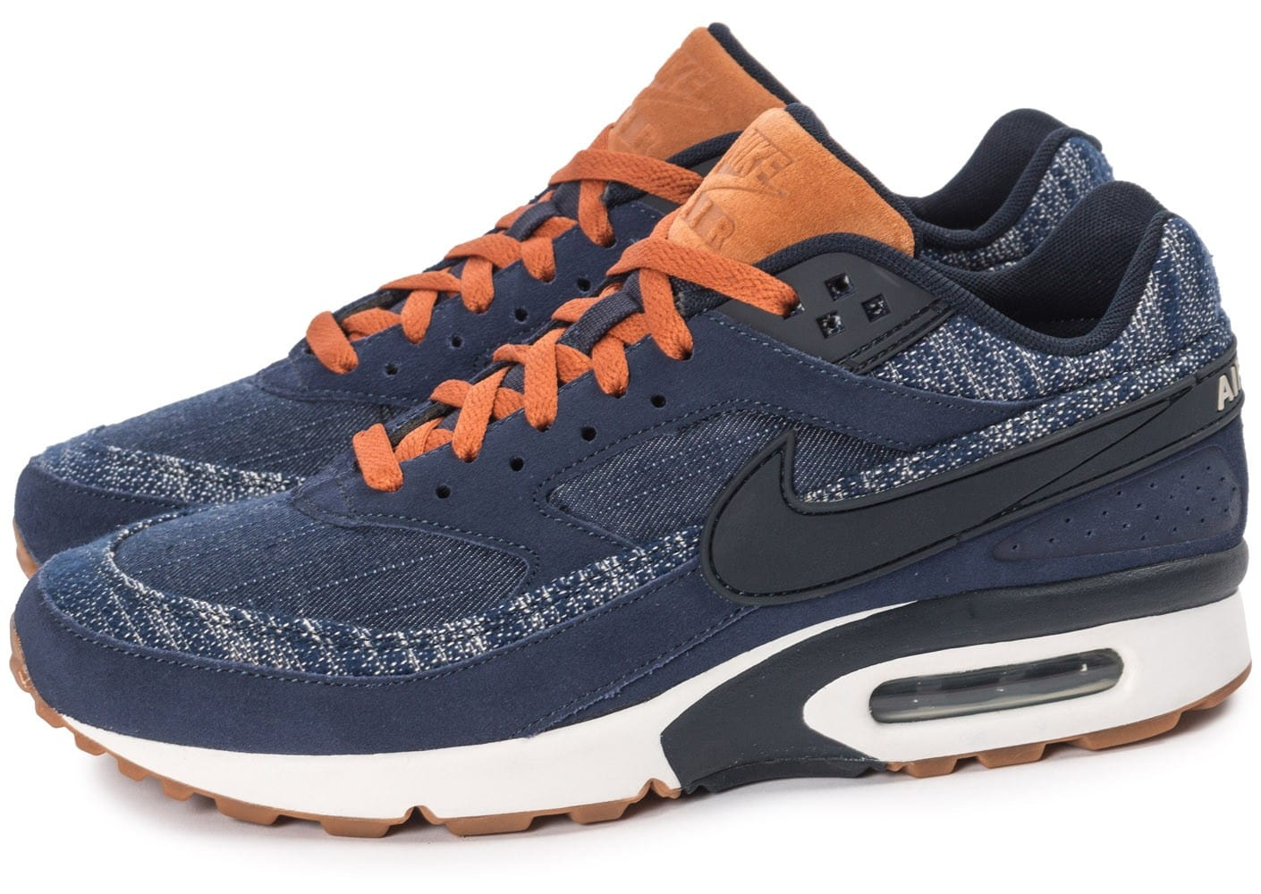 nike air max bw premium denim chaussures homme chausport. Black Bedroom Furniture Sets. Home Design Ideas